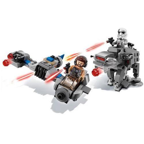 75195 SKI SPEEDER™ KONTRA MASZYNA KROCZĄCA NAJWYŻSZEGO PORZĄDKU™ (Ski Speeder vs First Order Walker Microfighters) KLOCKI LEGO STAR WARS