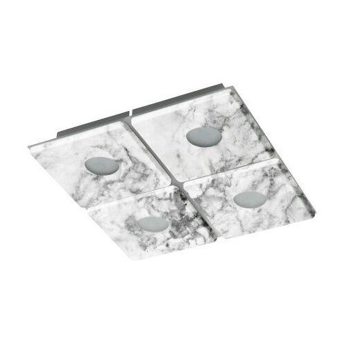 Eglo aliste lampa sufitowa led siwy, biały, 4-punktowe - nowoczesny - obszar wewnętrzny - aliste - czas dostawy: od 2-3 tygodni