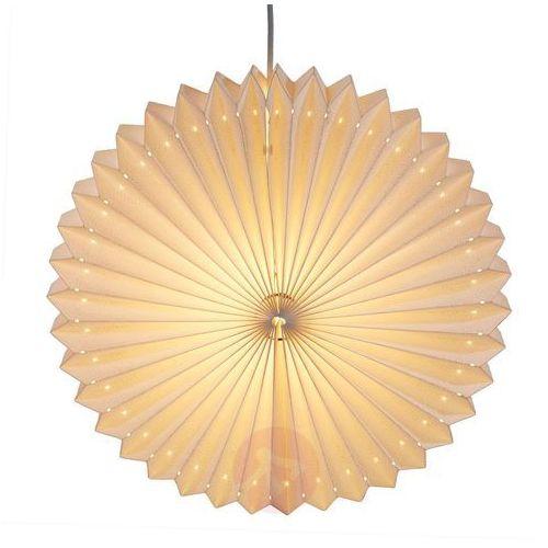 Hellum Lampion-oświetlenie dekoracyjne sunny, białe (4001233523560)