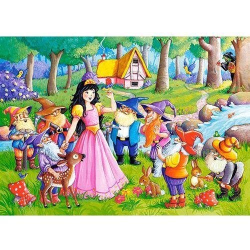 1-066032 Puzzle Królewna Śnieżka i siedmiu krasnoludków - PUZZLE DLA DZIECI