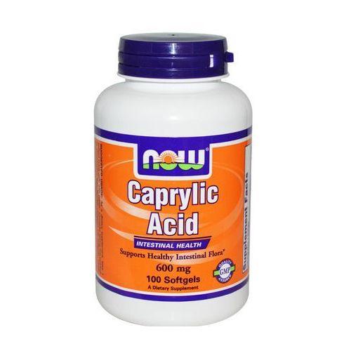 Kwas kaprylowy 600 mg - 100 softgels marki Now