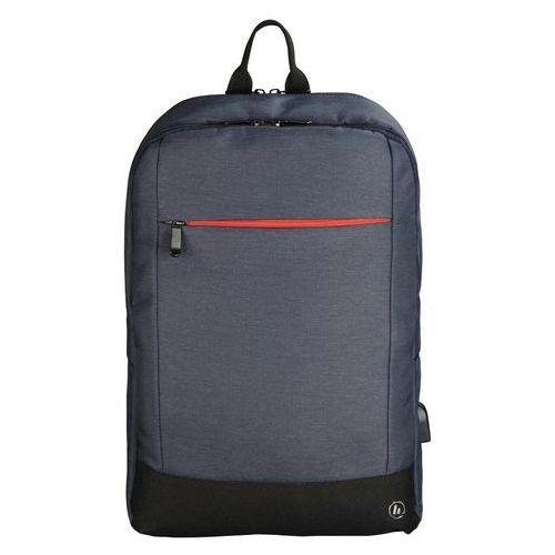 Plecak na laptopa HAMA Manchester 15,6 cala Niebieski (4047443375490)