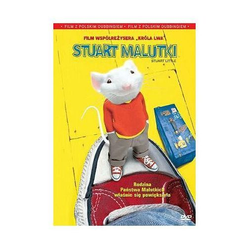 Stuart Malutki (DVD) - Rob Minkoff DARMOWA DOSTAWA KIOSK RUCHU