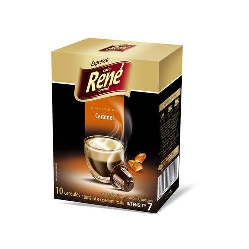 Nespresso kapsułki Rene carmel (kawa aromatyzowana) kapsułki do nespresso – 10 kapsułek