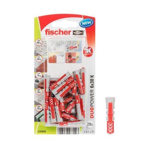 Kołek rozporowy duopower 6x30 k nv blister marki Fischer