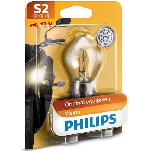 Philips® Żarówka motocyklowa s2 vision moto | blister 1 szt.