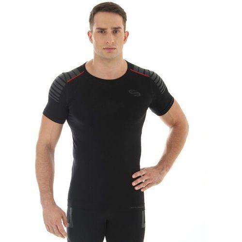 impulse ss10900 - męska koszulka termoaktywna (czarny) marki Brubeck