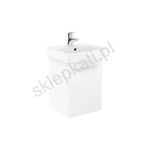 nova pro zestaw łazienkowy: umywalka 50 cm + szafka, kolor biały połysk m39004000 marki Koło