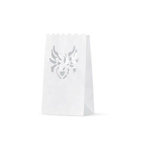 Party deco Duży lampion torebki na świece - 15 x 9 x 26 cm - 1 szt.