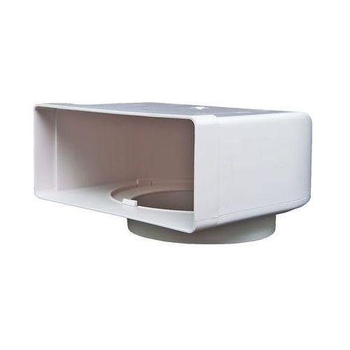 Kolanko płaskie poziome łącznikowe Domus 220x90 mm kod 951 - Specjalistyczny sklep - 28 dni na zwrot - Raty 0%