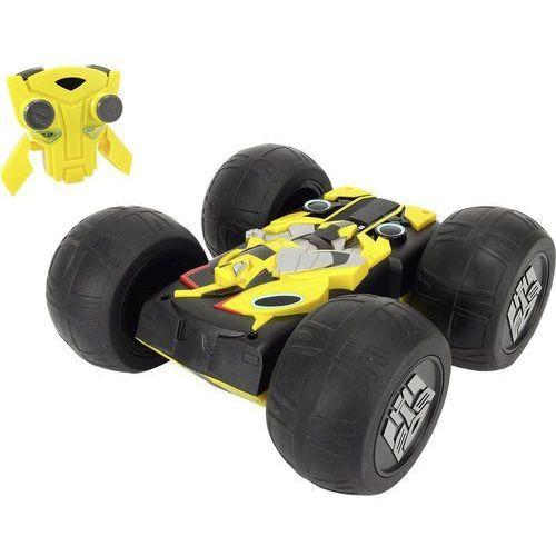 Samochód RC dla początkujących Dickie Toys Flip 'n' Race Bumblebee, 1:16, Elektryczny, 250 mm, RtR