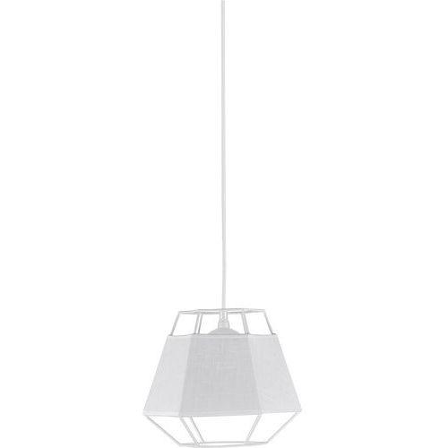 Lampa wisząca druciana zwis oprawa diament tk lighting cristal white 1x60w e27 biała 1852 marki Tklighting