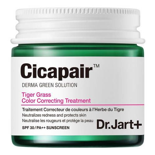 Cicapair tiger grass - krem do twarzy korygujący zaczerwienienia marki Dr.jart+