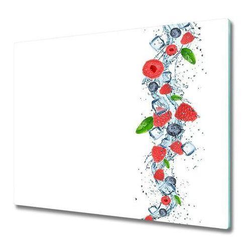 Deska do krojenia Owoce leśne z lodem