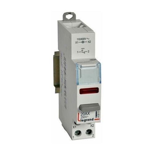 Legrand Łącznik modułowy bistabilny z lampką led czerwoną 110/400v ac lp452 1no 04464/412915