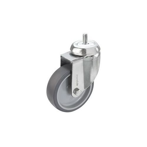 Proroll Zestaw termoplastycznego ogumienia z elastomeru, 4 rolki skrętne z trzpieniem gw