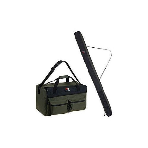 Torba wędkarska + pokrowiec na wędkę z kategorii torby i pokrowce wędkarskie