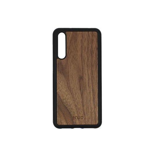 Huawei P20 Pro - etui na telefon Wood Case - orzech amerykański, ETHW676WOOD00O000