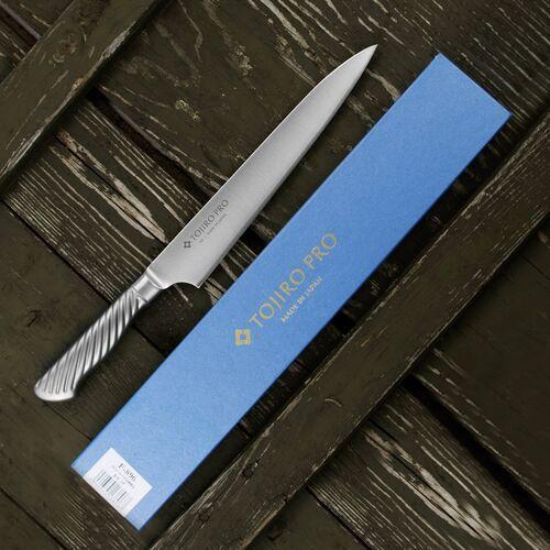 Nóż do porcjowania stalowy 21 cm tojiro pro vg-10 (f-896) (4960375138967)