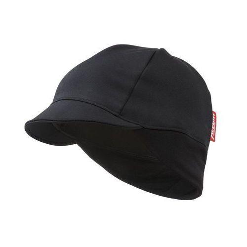 610-33-95_acc-uni czapka rowerowa z daszkiem superroubaix czarna, rozmiar uni marki Accent