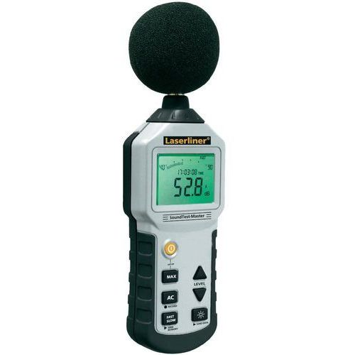 Laserliner Decybelomierz  soundtest-master 082.070a, 30 - 130 db, 31.5 hz - 8000 hz