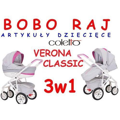 Wózek wielofunkcyjny (3 w 1) Firmy Coletto Model Verona Classic