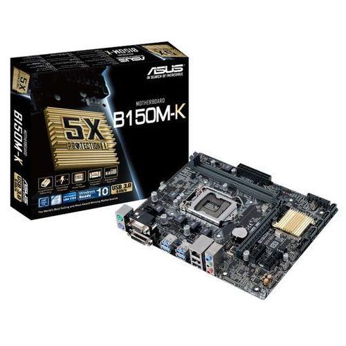 Asus B150M-K s1151 B150 2DDR4 USB3.0/DVI-D/D-SUB uATX (4712900259193)