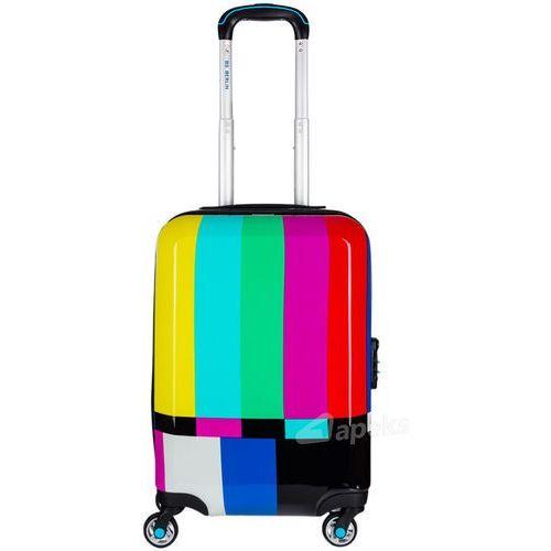 Bg berlin urbe mała walizka kabinowa na 4 kółkach 23/56 cm / tv set - wielokolorowy