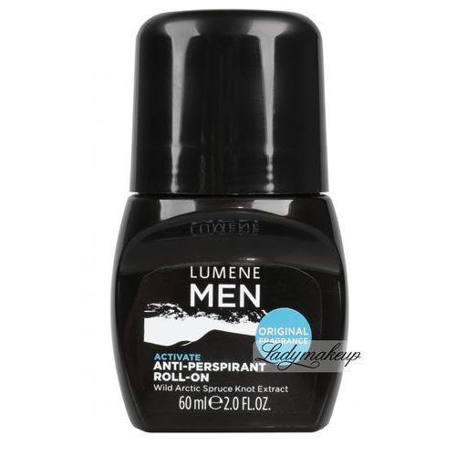 Lumene men activate - antyperspirant dla mężczyzn w kulce 60ml (6412600800289)