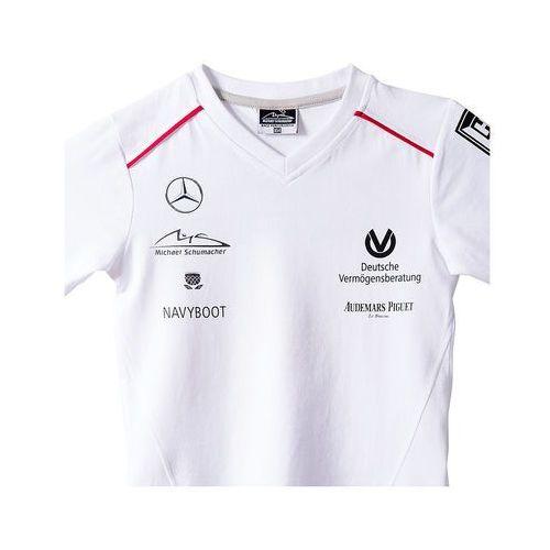 Koszulka dziecięca biała V-Neck Sponsor Michael Schumacher Collection 2015 - sprawdź w wybranym sklepie