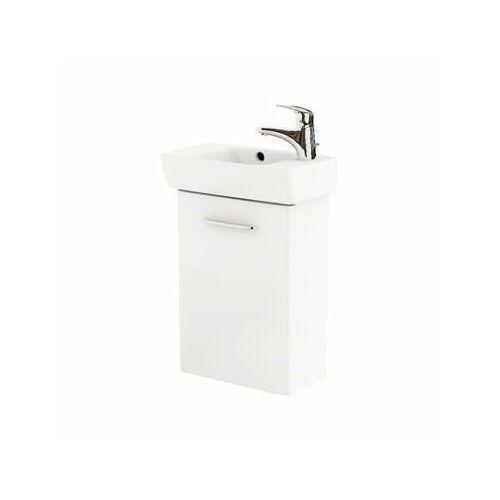 KOŁO NOVA PRO Zestaw łazienkowy 45cm, umywalka z otworem po prawej stronie, biały połysk M39003000, M39003000