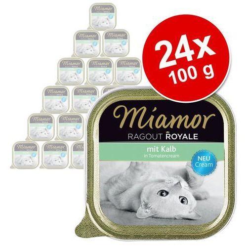 vital balance cream - cielęcina 6x100g marki Miamor