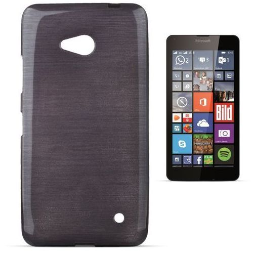 """Forcell """"jelly brush lumia 640"""" (black) (5901737287649)"""