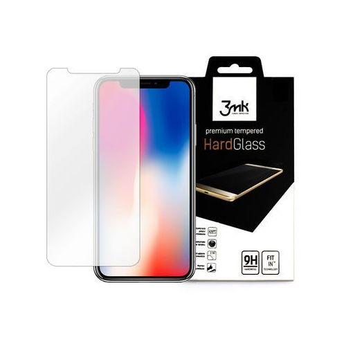 Apple iPhone X - szkło hartowane 3MK HardGlass, FOAP6113MHG000000