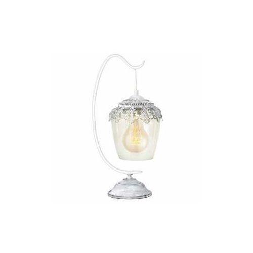 Eglo Lampa stołowa sudbury 49293 vintage lampka oprawa 1x60w e27 biały