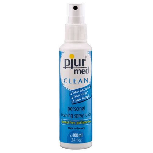 Pjur Płyn do higieny intymnej i akcesoriów  med clean spray 100 ml