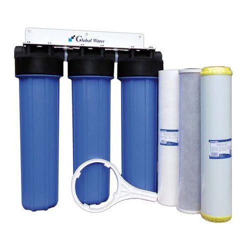 """Filtr wody 3xBigBlue 20"""" zmiękczający"""