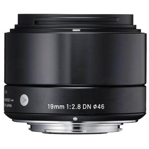 Sigma  19 mm f/2,8 dn a (czarny) sony e - produkt w magazynie - szybka wysyłka!, kategoria: obiektywy fotograficzne