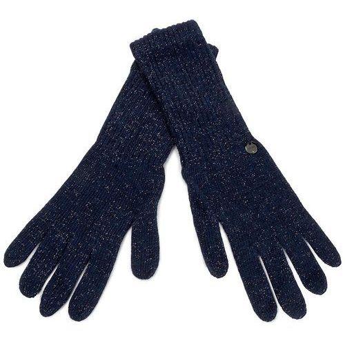 Rękawiczki Damskie LIU JO - Guanto Lungo Lamina N67274 M0300 Dress Blue 94024