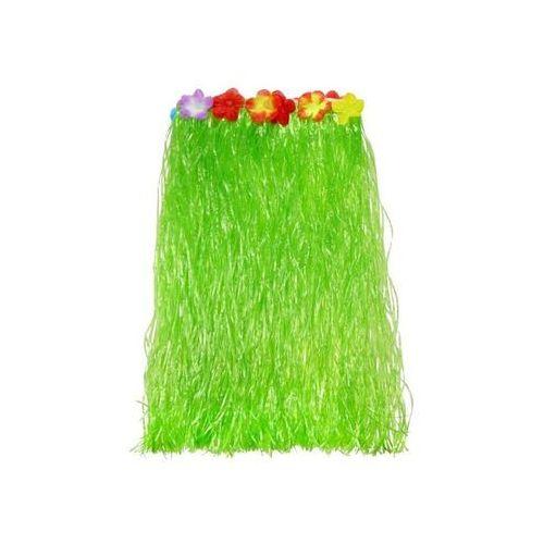 Spódniczka hawajska zielona z kwiatkami roz. M - 1 szt. - produkt z kategorii- Pozostałe