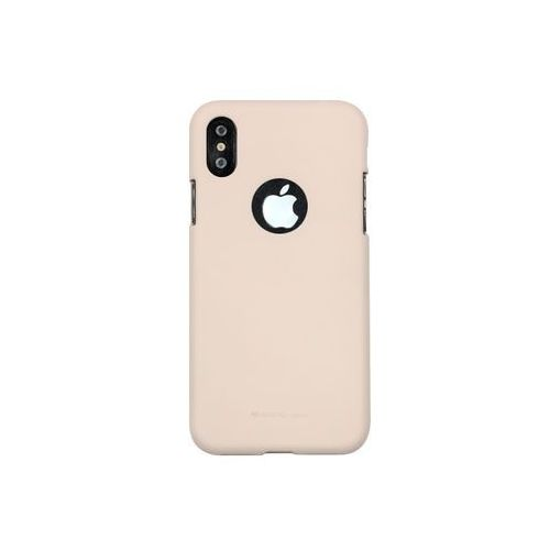 Apple iphone x - soft feeling - piaskowy róż marki Mercury goospery