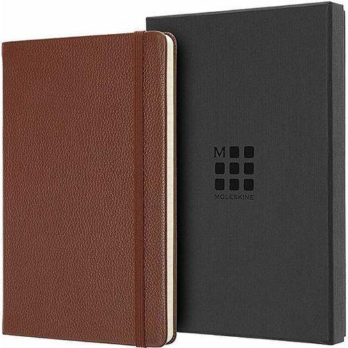Moleskine Notes okładka skórzana edycja limitowana l w linię sienna brown