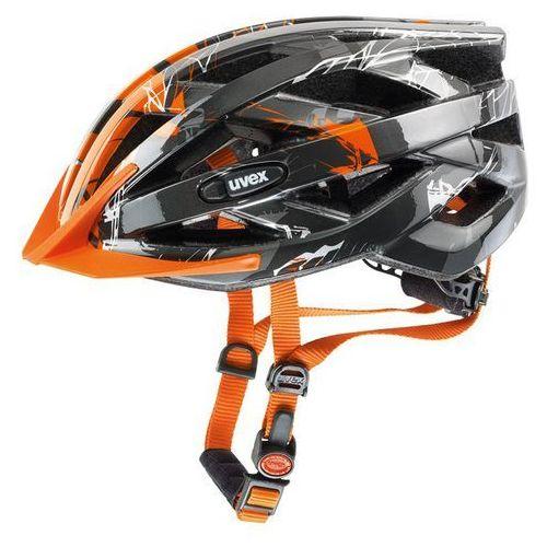 Uvex Kask rowerowy i-vo c silver/orange (56-60 cm)