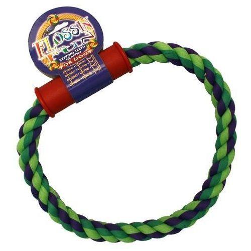 Rigo plecione ze sznura z rączką o średnicy 25cm marki Sznury