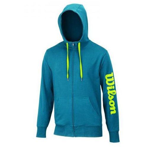 Wilson Logo Zip Hoodie Ultramarine