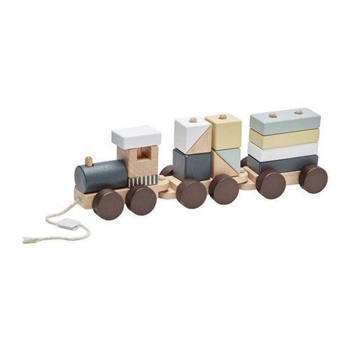 Pociąg Drewniany NEO Kids Concept - Natural KC1000140 (7340028726388)