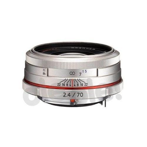 Obiektyw Pentax 70 mm f/2.4 AL Limited HD DA Srebrny (0027075273702)