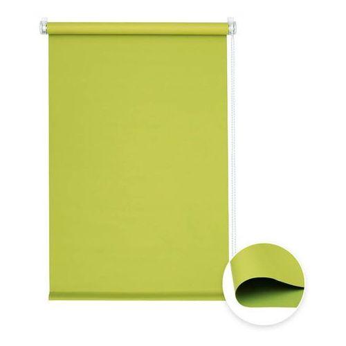Roleta materiałowa bezinwazyjna, przyciemniająca, gotowa, basic, zielona, 70x120 cm marki Victoria-m