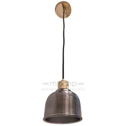Industrialna LAMPA wisząca AMBRA Orlicki Design szklana OPRAWA zwis loft chrom (1000000280395)