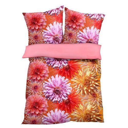 """Pościel dwustronna """"flora"""" kolorowy marki Bonprix"""